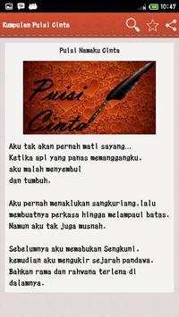 Kumpulan Puisi Cinta screenshot 7
