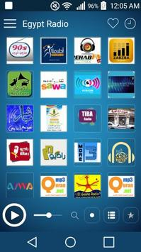 Egypt Radio Stations: Radio Egypt poster