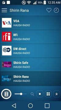 Hausa Radio Stations: Radio Hausa poster
