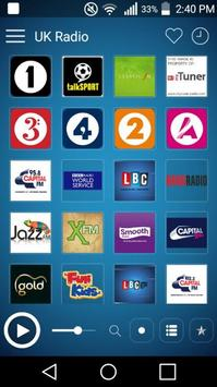 UK Radio Stations: Radio UK poster