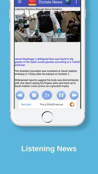 Listen News &  Learn English screenshot 2