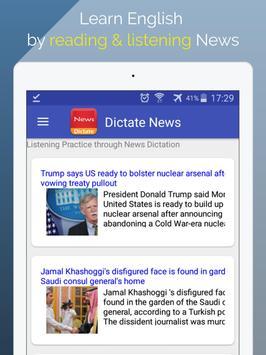 Listen News &  Learn English screenshot 6