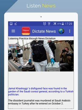 Listen News &  Learn English screenshot 8