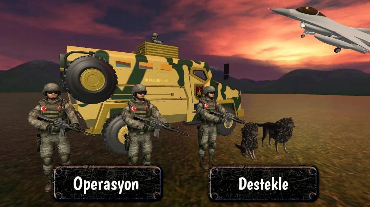 Turk Askeri Operasyonu 2020 Asker Oyunu For Android Apk Download