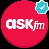 إسألني وصارحني، إسأل وجاوب، دردشة مجهولة - ASKfm أيقونة