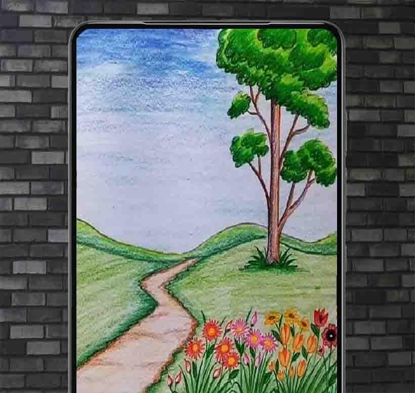Drawing Scenery Ideas For Android Apk Download