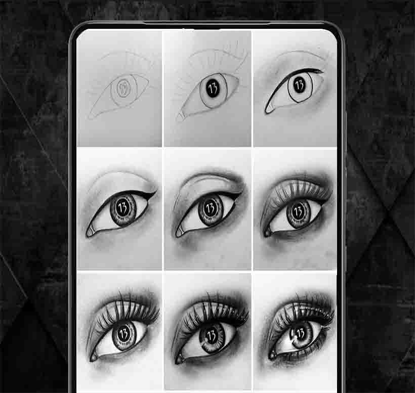 Dessin D Oeil Réaliste Pour Android Téléchargez L Apk