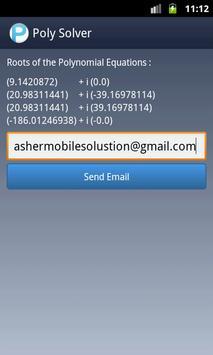 Polynomial Solver Free screenshot 4