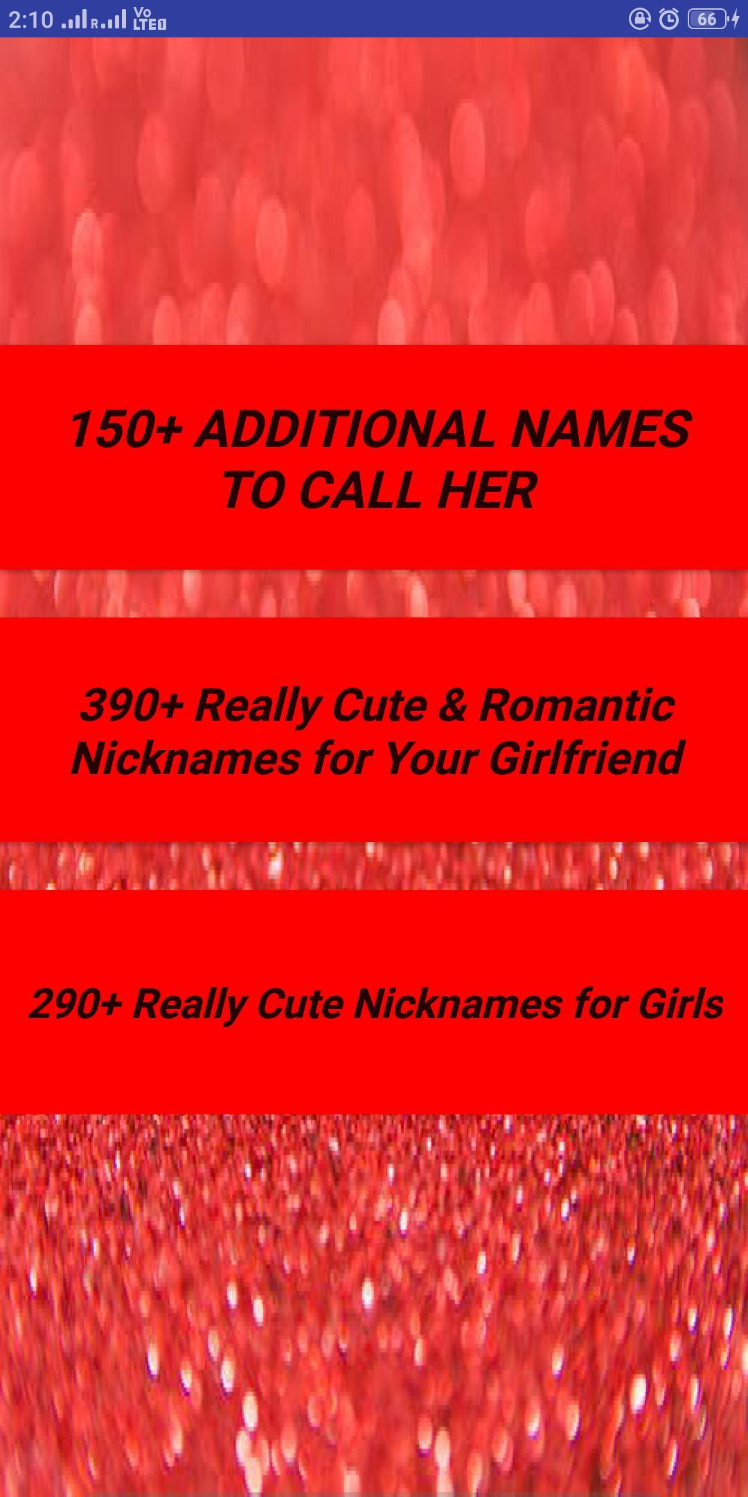 For girlfriends spanish love names 100+ Lovely