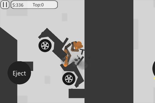 Stickman Dismount Max imagem de tela 2