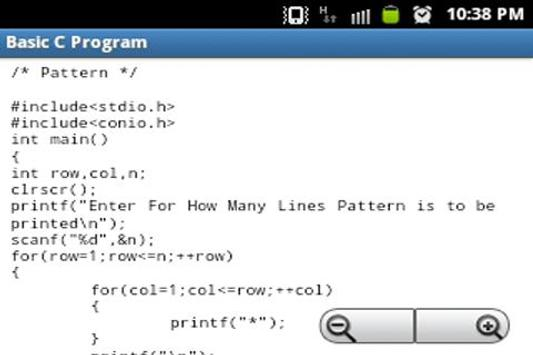 Basic C Programs screenshot 1