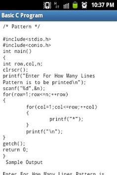Basic C Programs screenshot 3