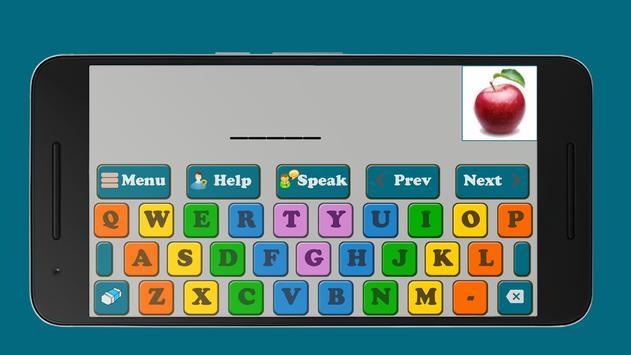 Kids Spelling Learning screenshot 1