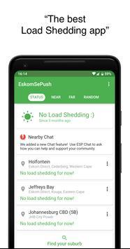 EskomSePush - The Load Shedding App poster