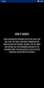 Lightning Distance Calculator screenshot 1