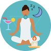 Music for Sleep Relax Meditation & Therapy-icoon