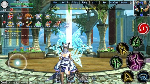 Online RPG AVABEL [Action] captura de pantalla 21