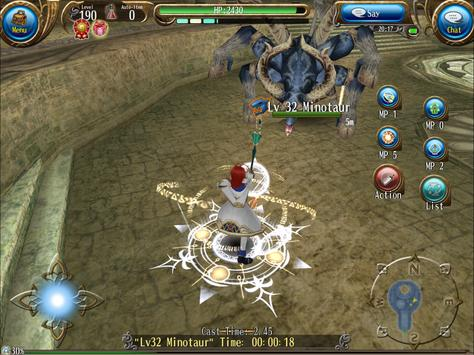 RPG Toram Online - MMORPG تصوير الشاشة 21