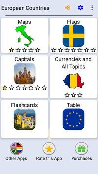European Countries screenshot 2