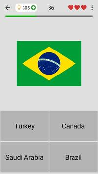 Flags of All Countries of the World: Guess-Quiz screenshot 3