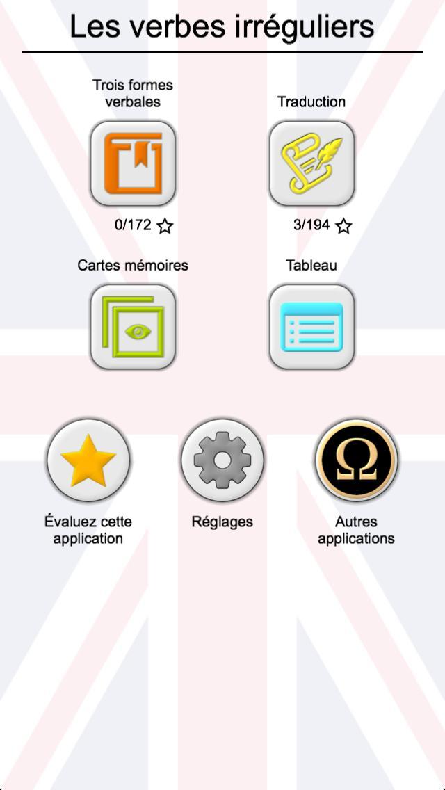 Les Verbes Irreguliers Anglais Les Trois Formes Pour Android Telechargez L Apk