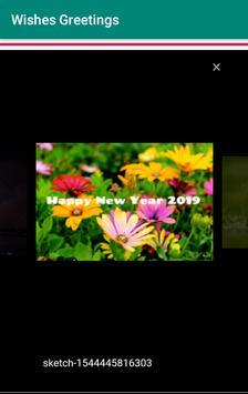Christmas New Year 2019 Wishes Greetings screenshot 3