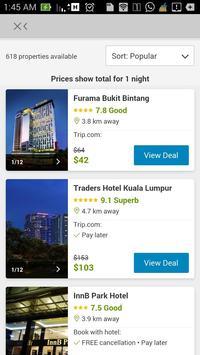 Hotel Compare screenshot 2