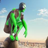 Rope Frog Ninja Hero - Strange Gangster Vegas أيقونة