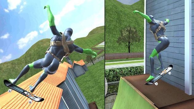 Rope Frog Ninja Hero - Strange Gangster Vegas تصوير الشاشة 4