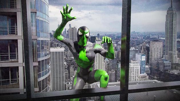 Rope Frog Ninja Hero - Strange Gangster Vegas تصوير الشاشة 1