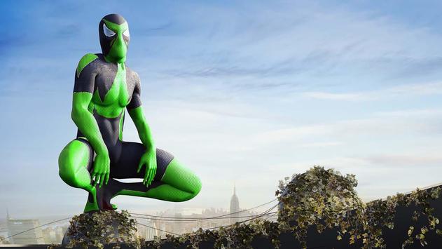 Rope Frog Ninja Hero - Strange Gangster Vegas تصوير الشاشة 12