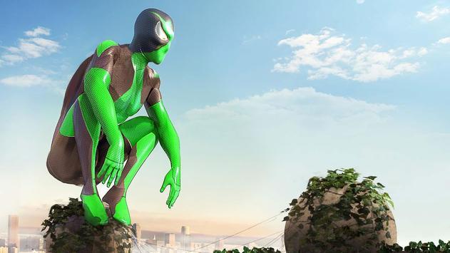 Rope Frog Ninja Hero - Strange Gangster Vegas تصوير الشاشة 2