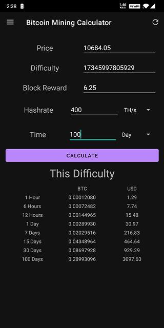 hashrate bitcoin calculator de la bitcoin la paypal