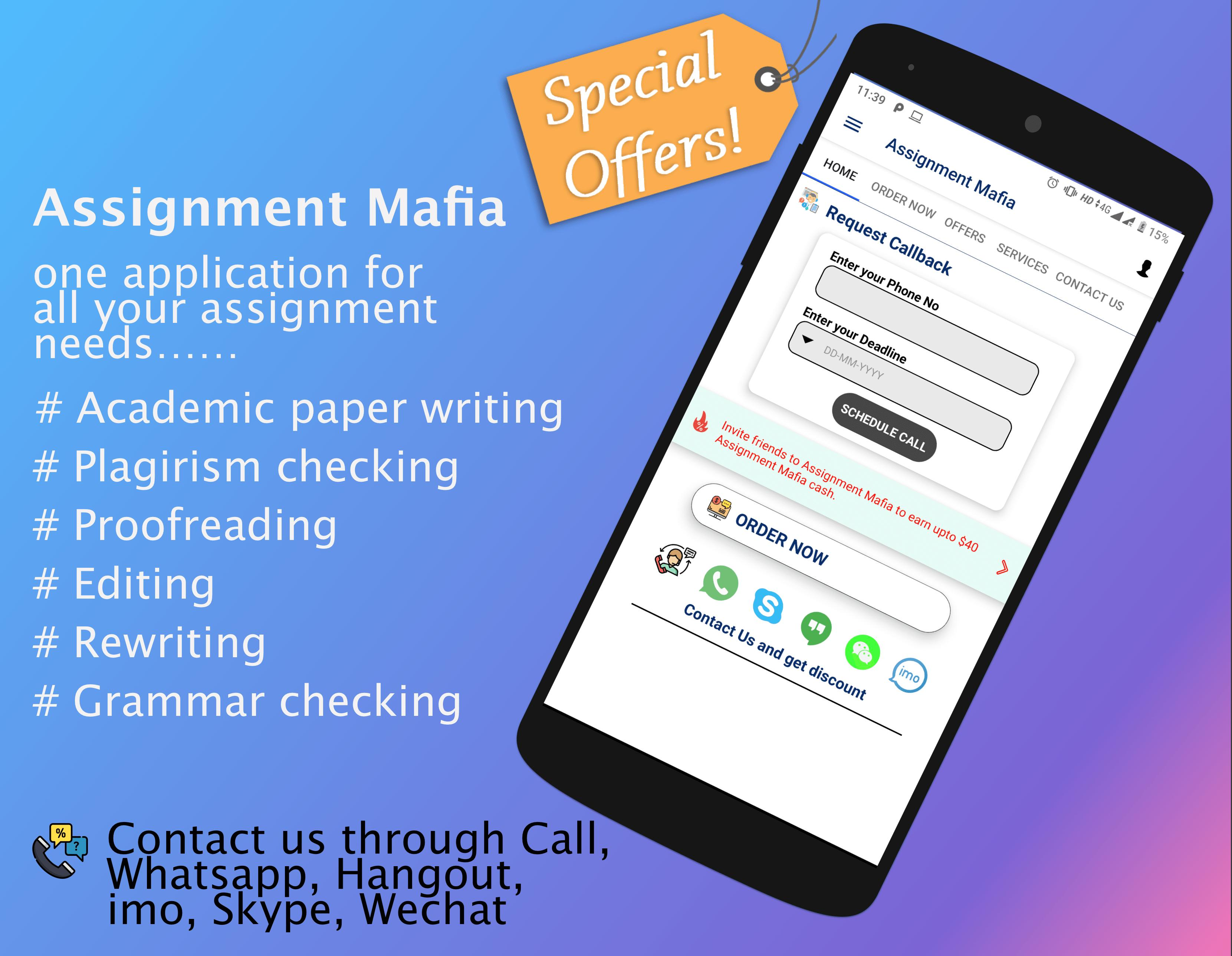 Assignment Mafia for Android - APK Download