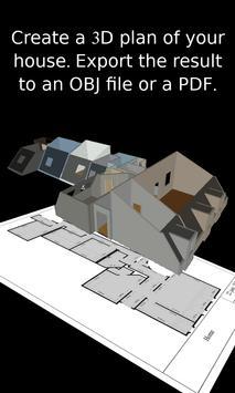 Floor plan - Home improvements in AR - Wodomo 3D screenshot 1