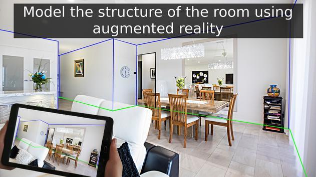 Floor plan - Home improvements in AR - Wodomo 3D screenshot 2