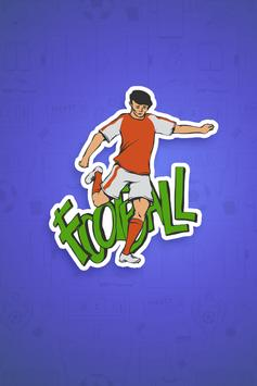 Football Stickers - WAStickerApps poster