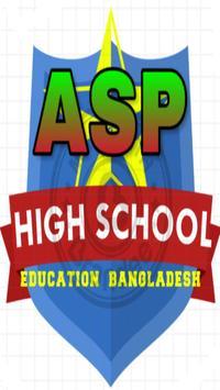 ASP High School Education poster