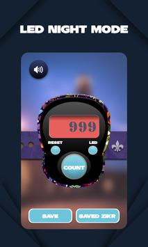 Digitale Tasbeeh-teller 2020 Tasbih & Zikar-app screenshot 1