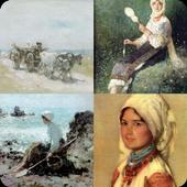 4 Picturi 1 Pictor icon