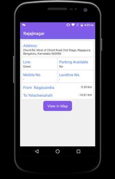 BMRCL Bangalore Metro screenshot 3