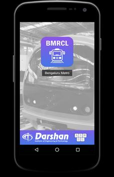 BMRCL Bangalore Metro poster