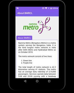BMRCL Bangalore Metro screenshot 14