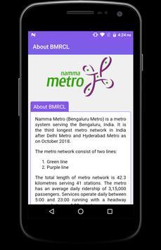 BMRCL Bangalore Metro screenshot 6