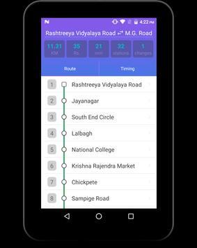 BMRCL Bangalore Metro screenshot 9