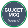 GUJCET MCQ 2021 Group-A