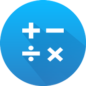 Math: mental math games, multiplication table icon