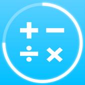 Permainan matematik: aritmetik, matematik mental ikon
