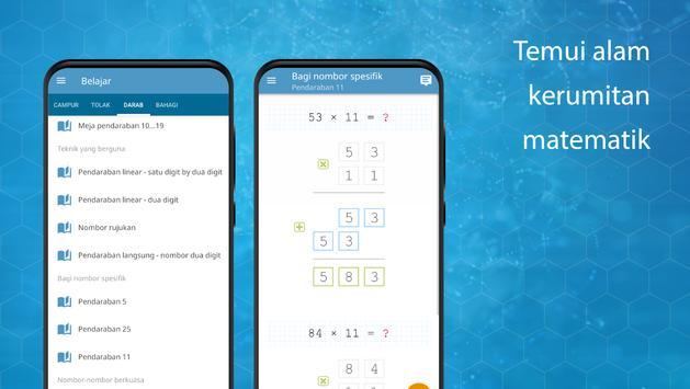 Permainan matematik: aritmetik, matematik mental syot layar 4