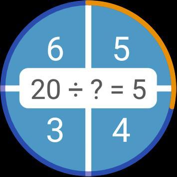 Permainan matematik: aritmetik, matematik mental syot layar 11